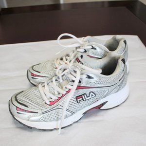 VGC FILA Mesh Top Athletic Sneakers Shoes Size 6